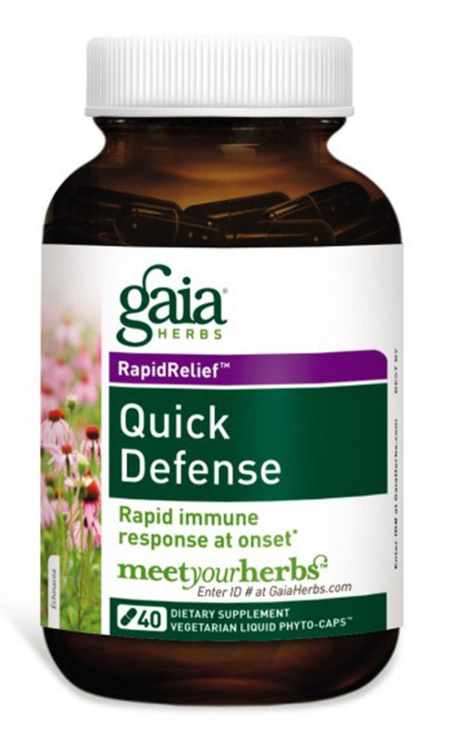 Gaia Quick Defense - 40 Capsules