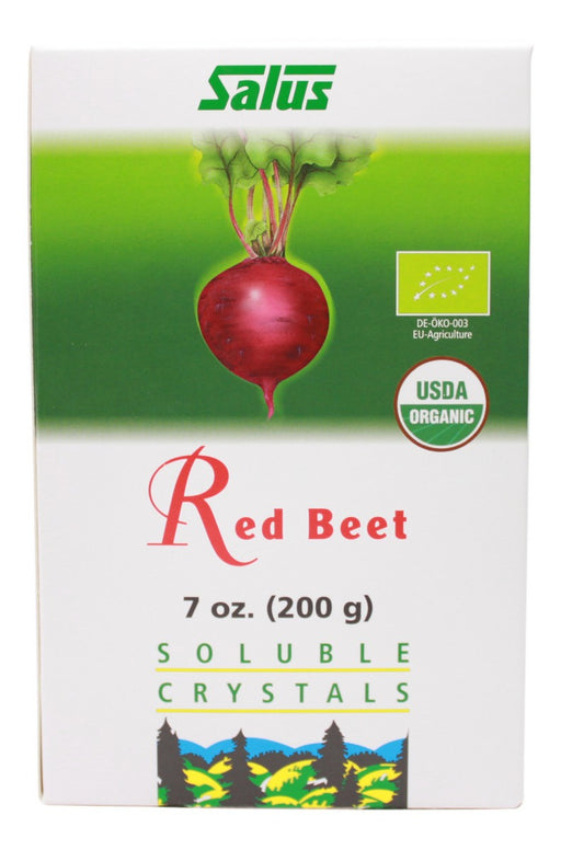Red Beet Crystals - 7 oz Box - Front