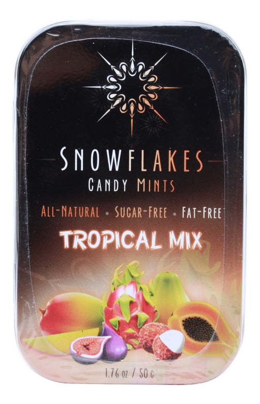 Tropical Mix Snowflakes - 1.76oz - Front