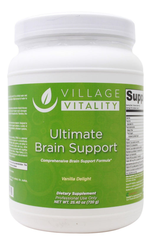 Ultimate Brain Support Vanilla - 25.4 oz Powder - Front