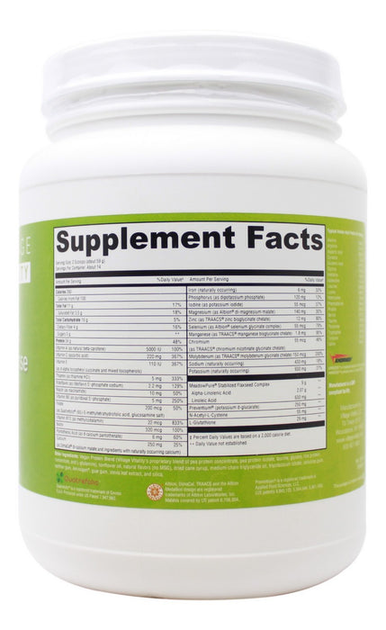 Ultimate Clear Cleanse - 29.14 oz Powder - Supplement Facts