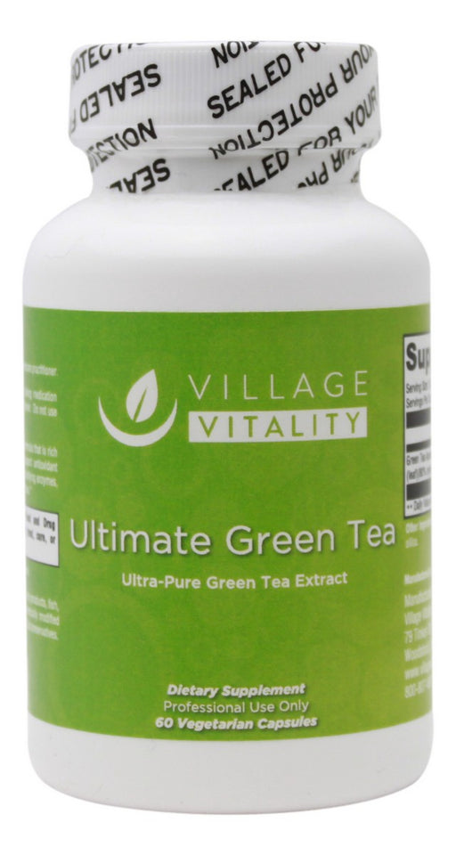 Ultimate Green Tea - 60 capsules - Front
