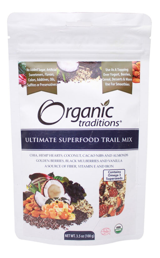 Ultimate Superfood Trail Mix - 3.5 oz - Front