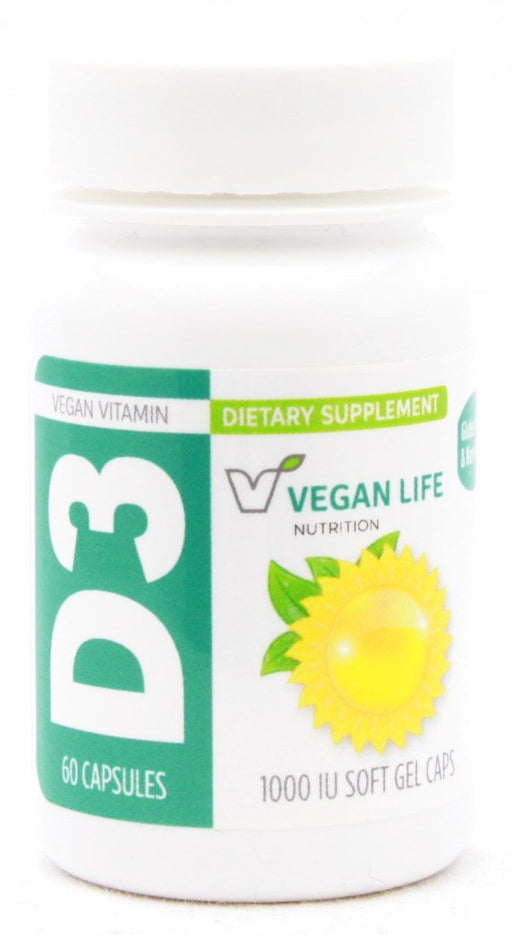 Vegan D3 1000 - 60 softgels