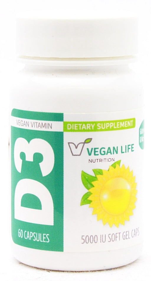 Vegan d3 5000 - 60 softgels