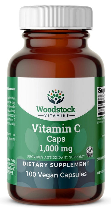 Vitamin C 1,000 mg with Rose Hips - 100 Tablets