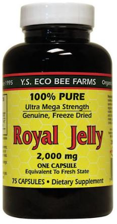 Royal Jelly 2,000 mg (Ultra Mega Strength) - 75 Capsules