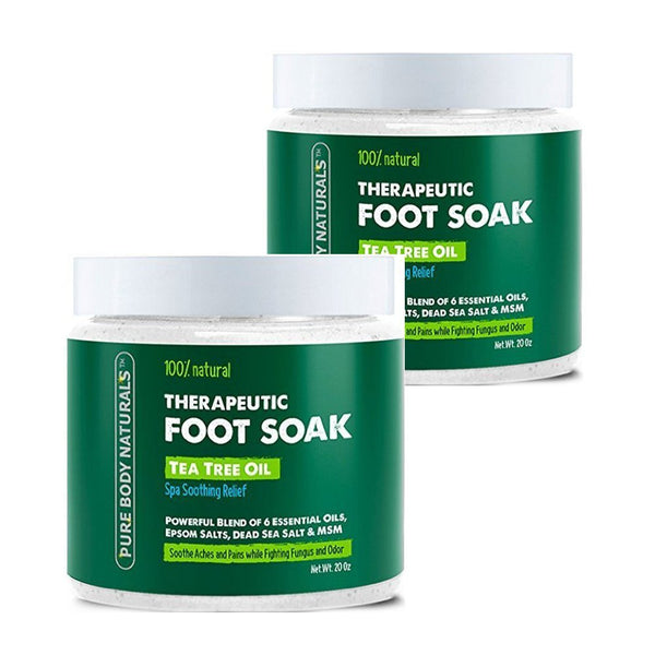 Tea Tree Oil Foot Soak Set of 2