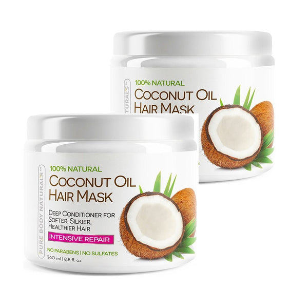 Coconut Oil Hair Mask Set of 2