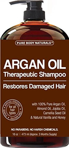 Therapeutic Moroccan Argan Oil Repair Shampoo - 16 Oz