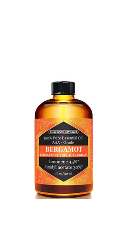 Bergamot Essential Oil, 1fl oz