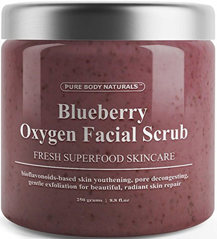 Blueberry Oxygen Facial Scrub