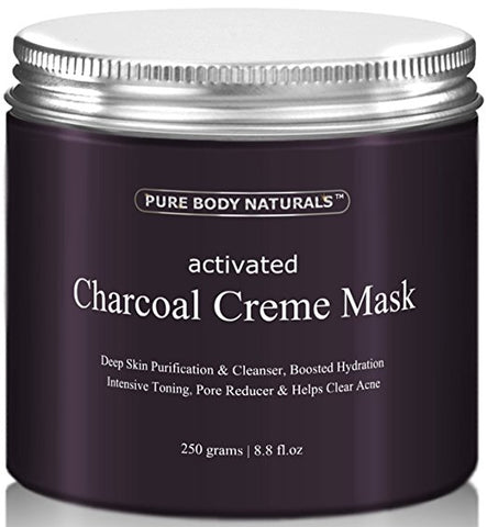Activated Charcoal Creme Face Mask