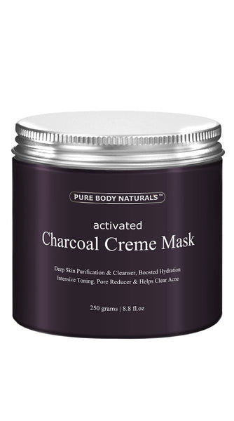 Activated Charcoal Creme Mask