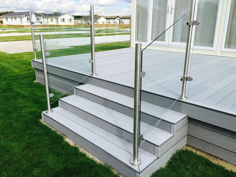 Glass Balustrades For Holiday Lodges