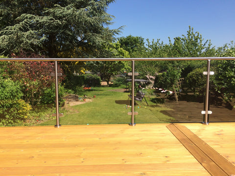 Glass Balustrade on a Sunny Day!