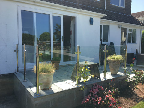 Customer Review - Semi Frameless glass balustrade