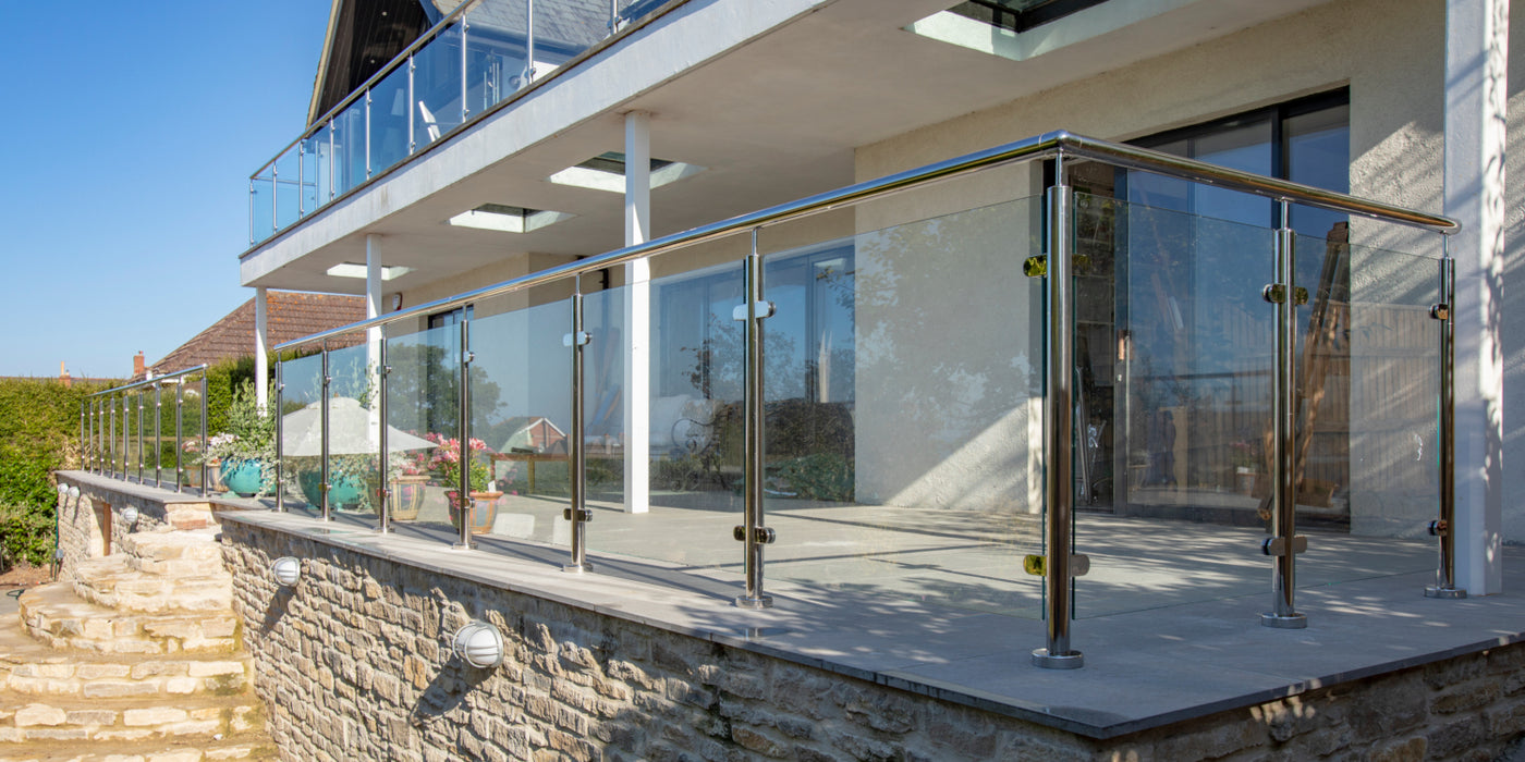 Framed Glass Balustrade