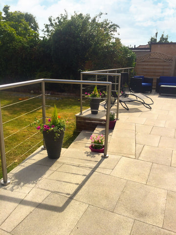Patio Wire Balustrade
