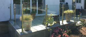 Semi-Frameless Glass Balustrade
