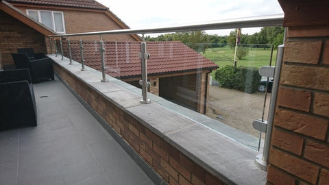 glass balustrade golf club
