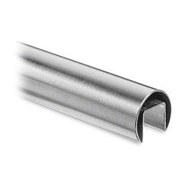 Slotted Handrail Tube - 42.4 mm (24 x 24 mm slot)