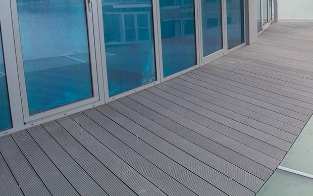 Natural Platinum Ash Composite Decking