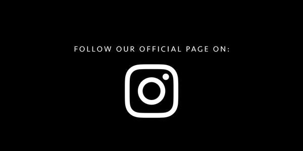 Follow our official Instagram page
