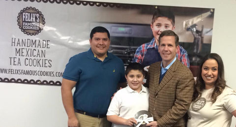 Felix with Congressmen Dold