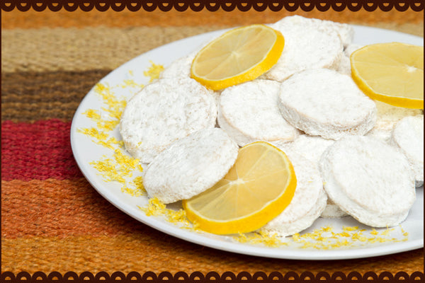 Lemon Powdered Sugar - Your NEW Favorite Cookie