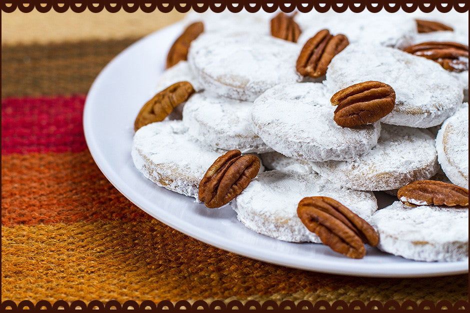 Pecan Powdered Sugar - Grandma's Pecan Sandies