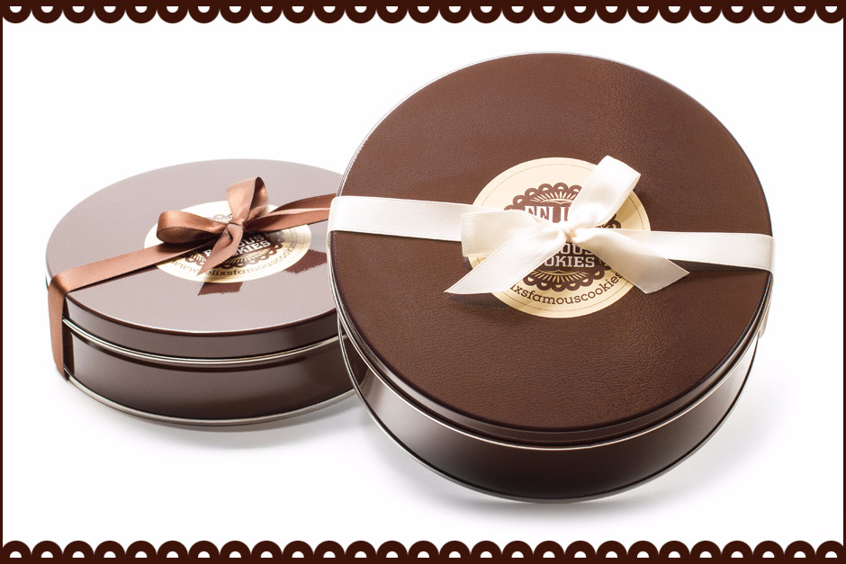 Assorted Cookie Tin -  Filled with Our Most Popular Cookies!