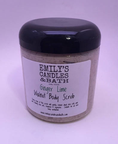 Walnut Body Scrub - With Essential Oils - 9 Oz.