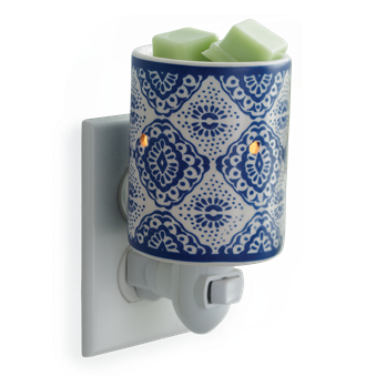 Plug In Fragrance Warmer - Indigo Porcelain