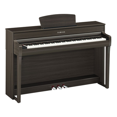 Yamaha CLP735 Clavinova Digital Piano w/ Bench - Dark Walnut
