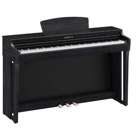 Yamaha CLP725 Clavinova Digital Piano w/ Bench - Black