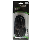 "Link Audio Solutions A110MMP  Mono 1/8"" to Mono 1/4"" Cable (10 Foot)"