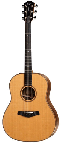 *Taylor 717e Builders Edition V-Class Grand Pacific Acoustic-Electric, Natural