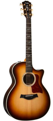 *Taylor Custom 414ce-R V-Class Grand Auditorium Acoustic-Electric, Shaded Edge Burst