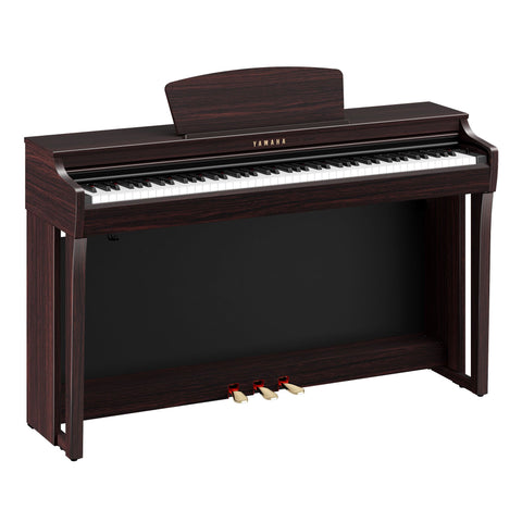 Yamaha CLP725 Clavinova Digital Piano w/ Bench - Dark Rosewood