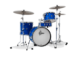 Gretsch Catalina Club Classic 4pc Shell Pack, Blue Satin Flame