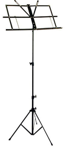 Profile MS-033BP Fold-Up Music Stand w/ Bag, Black