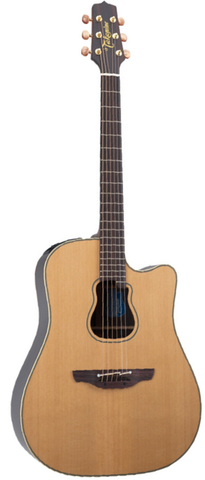 Takamine Signature Series GB7C Garth Brooks Signature Dreadnaught Acoustic-Electric Guitar, Natural