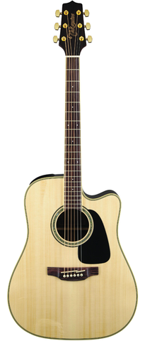 Takamine G50 Series GD51CE-NS Dreadnaught Acoustic-Electric Guitar, Natural