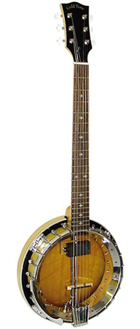 Gold Tone GT-500 6-String Banjitar, Natural