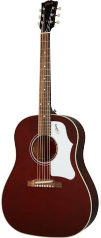 Gibson 60's J-45 Original Standard Slope Shoulder Dreadnought Acoustic-Electric - Wine Red