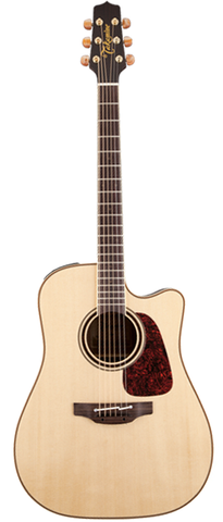 Takamine Pro Series P4DC Dreadnaught Acoustic-Electric Guitar, Natural