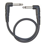 "D'Addario / Planet Waves PW-CGTPRA-01 Classic Series 1/4"" Right Angle Instrument Cable, 1 Foot"