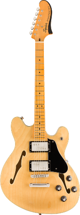 Squier Classic Vibe Starcaster, Maple Fingerbaord - Natural