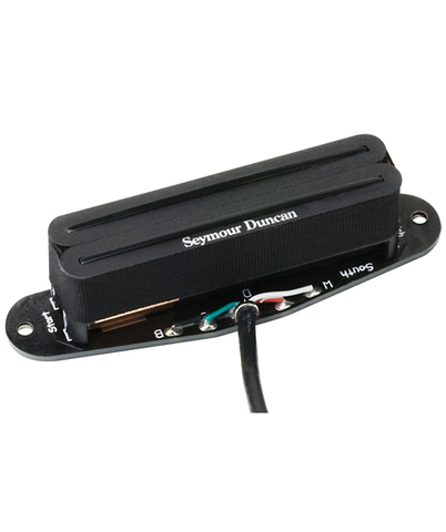 "Seymour Duncan STHR-1N ""Hot Rails"" Tele Neck Pickup, Black"